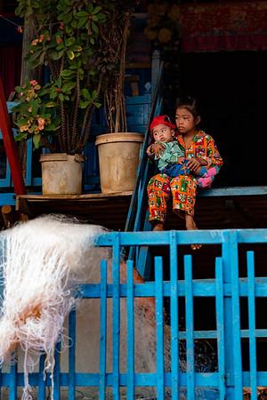 2019, Cambodia, Tonle Sap River, Kompong Phluk Flooded Forest, and Kompong Phluk Floatong Villages