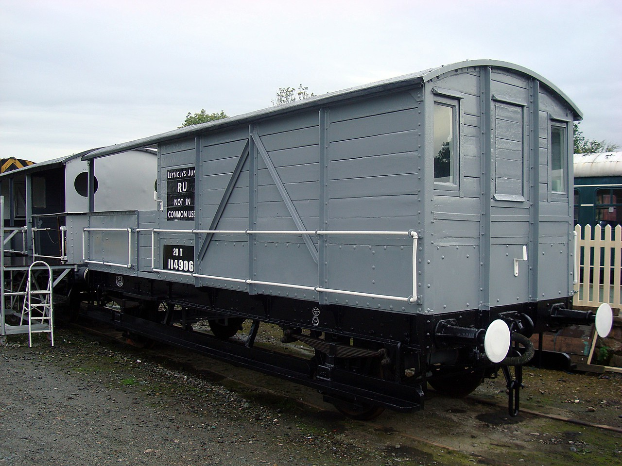 GWR 114906 Goods Brake Van 18,09,2010. (Now At Bovey Tracey Heritage Museum)