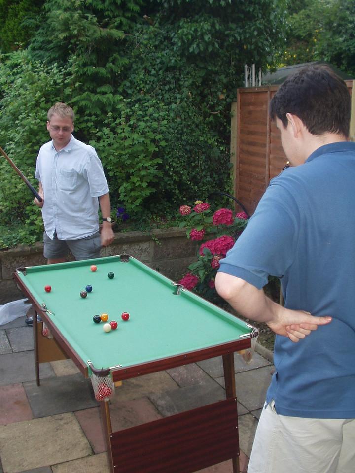 Rob leaves John a tricky pot