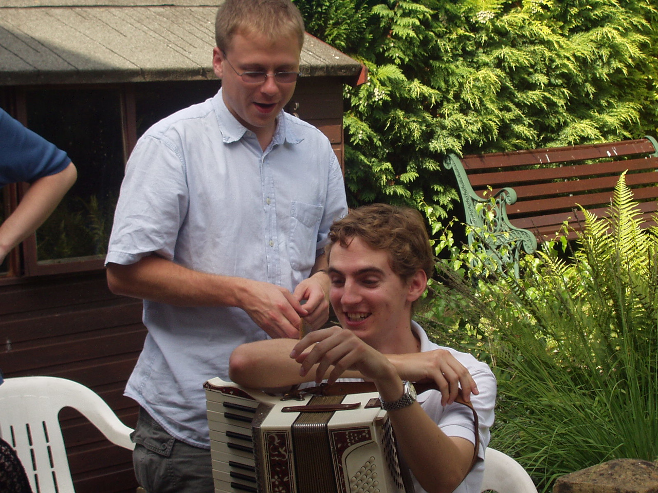 Passing the accordion