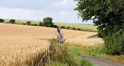 South Cambridgeshire country lane