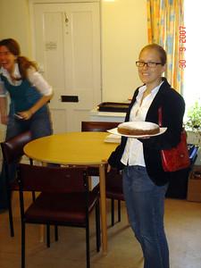 Steph bakes a cake :-)