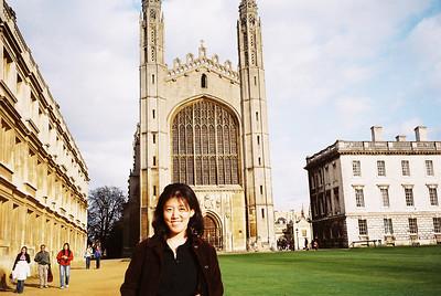 Kay Hong visits us in Cambridge!