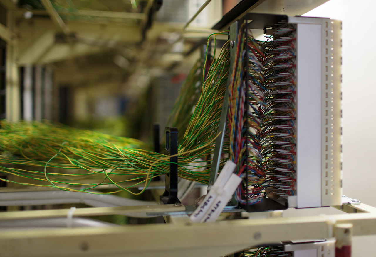 Inside a telephone exchange (from Dec 2013) - Mark Heath Photography