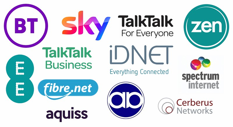 Examples of Broadband Providers Offering FTTP Services in Spaldwick