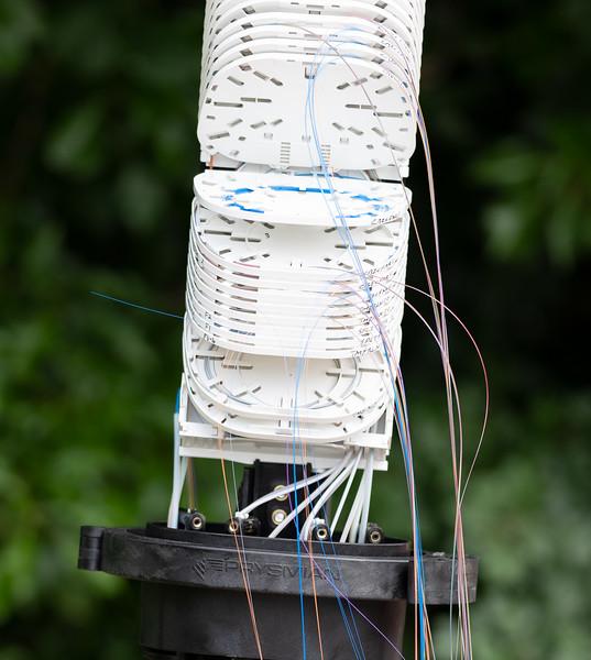 Fibre cables on display (9 Jul 2021)