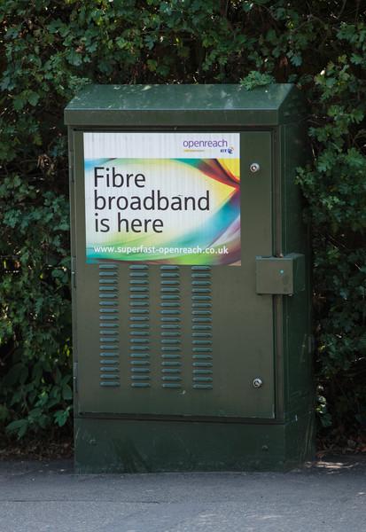 Brampton fibre street cabinet