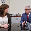 CamBrooke Therapeutics in Ayer is a company the creates food for people born with Phenylketonuria, better know as PKU. Husband and wife team Lynn and David Paolella, founders, talks about the company on Friday February 17, 2017. SUN/JOHN LOVE