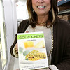 CamBrooke Therapeutics in Ayer is a company the creates food for people born with Phenylketonuria, better know as PKU. Founder Lynn Paolella shows off the hot pockets they make at the company on Friday February 17, 2017. SUN/JOHN LOVE