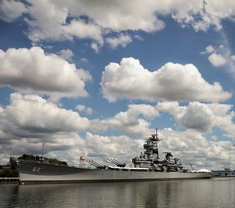 Battle Ship New Jersey