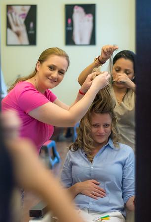 Camelia Hair and Makeup for Wedding