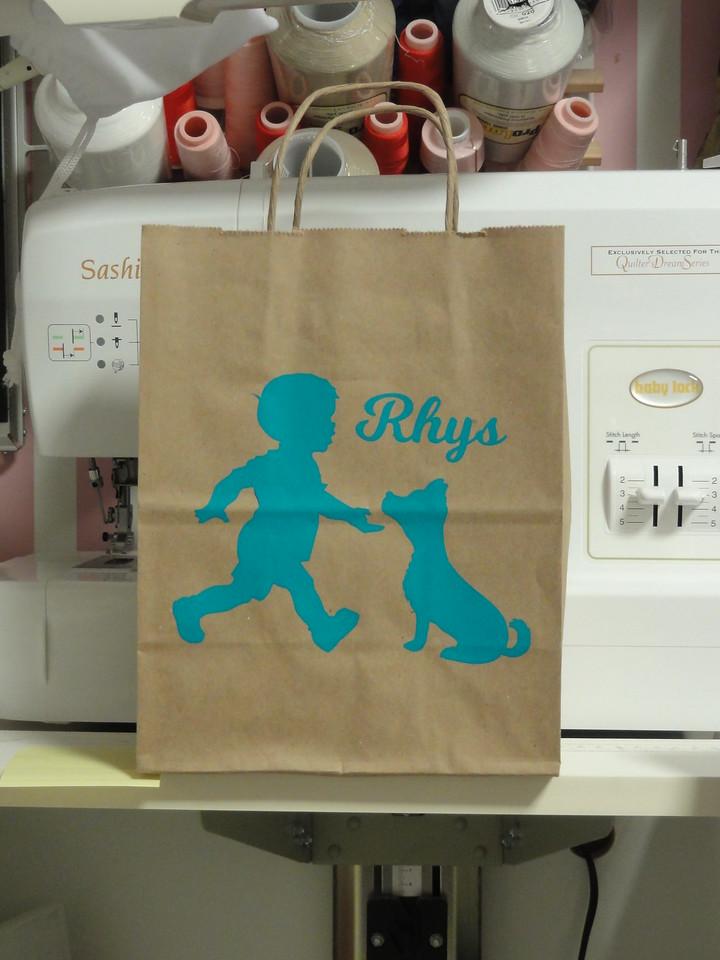 Gift bag for Rhys