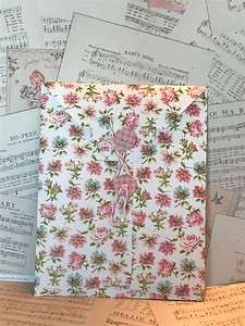 Another view of string envelope I made