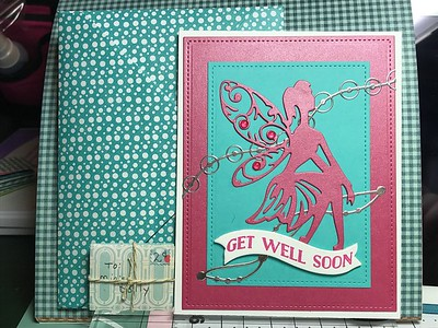 Get Well Card for Mia...who is four and has pneumonia!