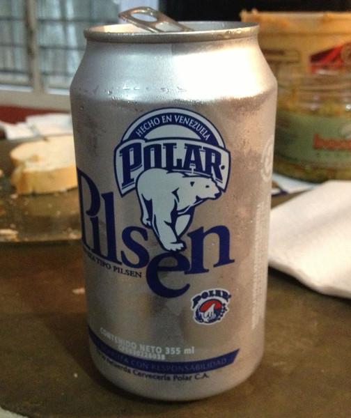 Venezuelan beer, polar