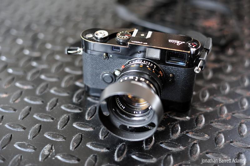 Leica MP with Leicavit & 50 Summilux