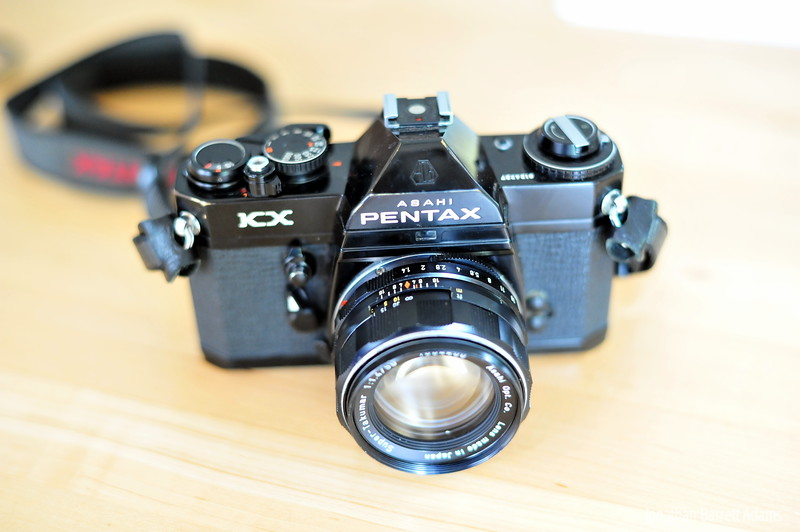 Pentax KX with Super-Takumar 50/1.4
