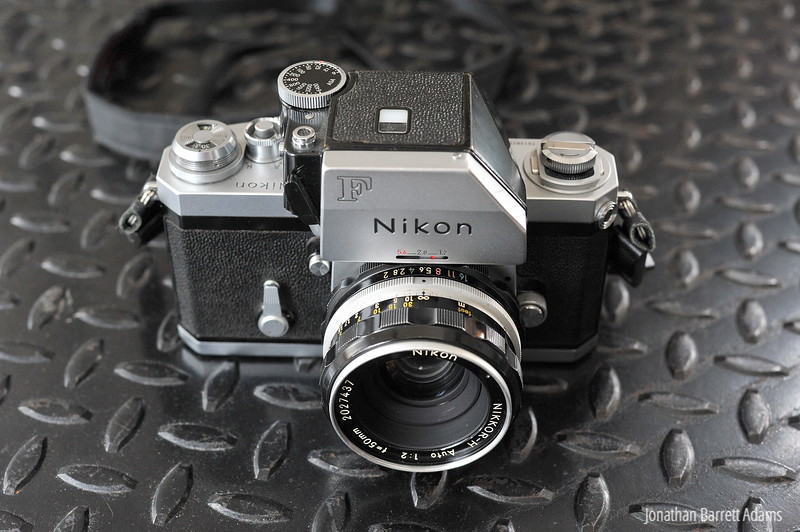 1972 Nikon F Photomic FTN, Nikkor 50 f2