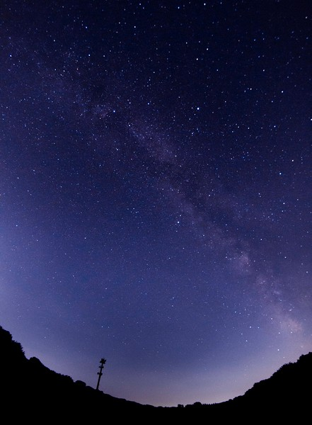 Milky Way from Monroe, CT