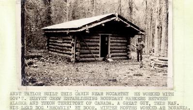 Cabin near McCarthy
