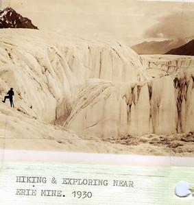 Glacier Hiking near Erie Mine