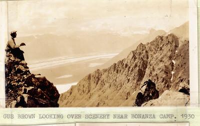 Gus Brown Near Bonanza 1930