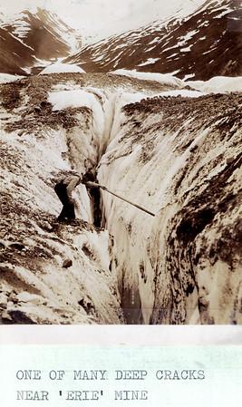Crack near Erie Mine