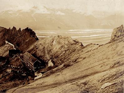 Above Bonanza Mine