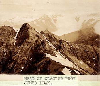 Erie Glacier from Jumbo Peak
