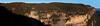 Wentworth Falls cliffs panorama 9600 X 2477