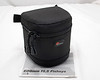 Lowepro padded lens pouch to fit 8 mm f/3.5 lens