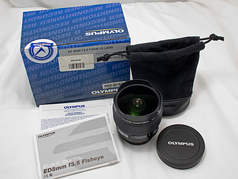 8 mm f/3.5 Ultra Wide Angle Fisheye Lens