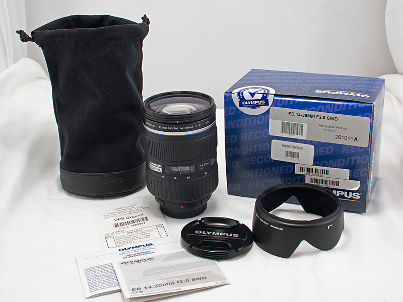 Olympus Super High Grade 14-35 mm f/2 Wide Angle Lens