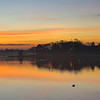 December 9 2012 - Xmas on the bay. Sunrise with a lone Xmas tree