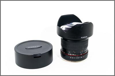 Rokinon FE14M-C 14mm F2.8 Ultra Wide Lens for Canon