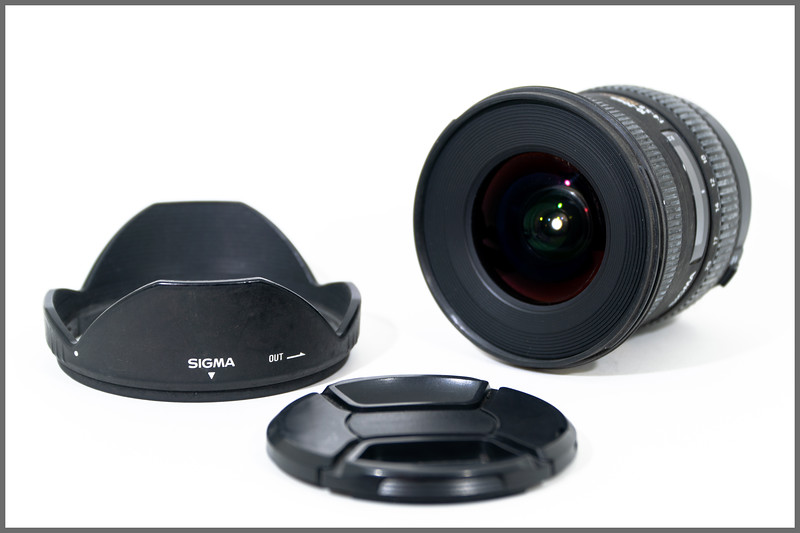 Sigma 10-20mm f/4-5.6 EX DC HSM Lens for Canon