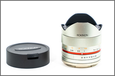 Rokinon 8mm f/2.8 UMC Fisheye II Lens for Sony E (Silver)