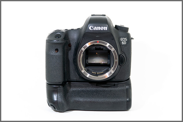 Canon 6D with Battery Grip