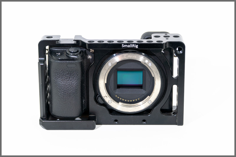 Sony Alpha a6300 Mirrorless Digital Camera with Small Rig Cage