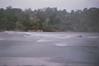 Pinhole Photo.  F125 6 seconds, original unedited scan.  Rapids on Rappannock River just above Fredericksburg Virginia - Original unedited scan.