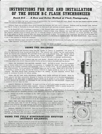 Busch B-C Flash Sychronizer