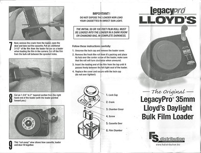LloydsBulk Film Loader