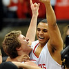Colorado_State_Boys_Basketb.JPG Colorado_State_Boys_Basketball_Championship_COBOU108.jpg Michael Clark, left, and RJ Demps of Regis Jesuit High School, celebrate winning the 5A Colorado State Basketball Championship on March 15, 2009 in Boulder.<br /> Cliff Grassmick / March 14, 2009