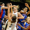 Colorado__Kansas_NCAA_Women.JPG Colorado__Kansas_NCAA_Women_s_basketball_COBOU101.jpg Kara Richards of CU battles against Kansas.<br /> Cliff Grassmick / February 18, 2009