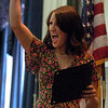 Caroline Prill celebrates winning one of the Van Ek Awards during the honors convocation.<br /> The University of Colorado College of  Arts and Sciences had their honors convocation on Friday at the Glenn Miller Ballroom.<br /> Cliff Grassmick / May 7, 2009