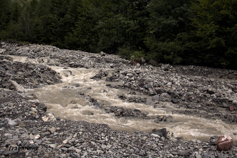 Brandnertal, Austria  08/19/2017 -- 1/200 second<br /> Alvier River -- Playing with exposure timing<br /> (For more -- See Strabanzer Gallery Photography/Shutter-Speed/)<br /> This work is licensed under a Creative Commons Attribution-<br /> NonCommercial 4.0 International License