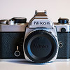Nikon FM (chrome), front