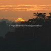 Floyd Brandt Photojournalist<br /> 40 days and nights in Cameroon Africa traveling from the South to the North. Sunset in the Rain Forest.