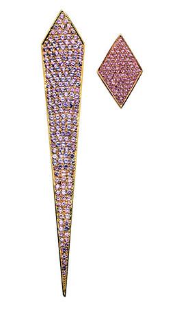Venetianska istappen Pavé och Pink triangle