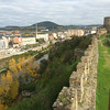 View of Pontferrada from Castle